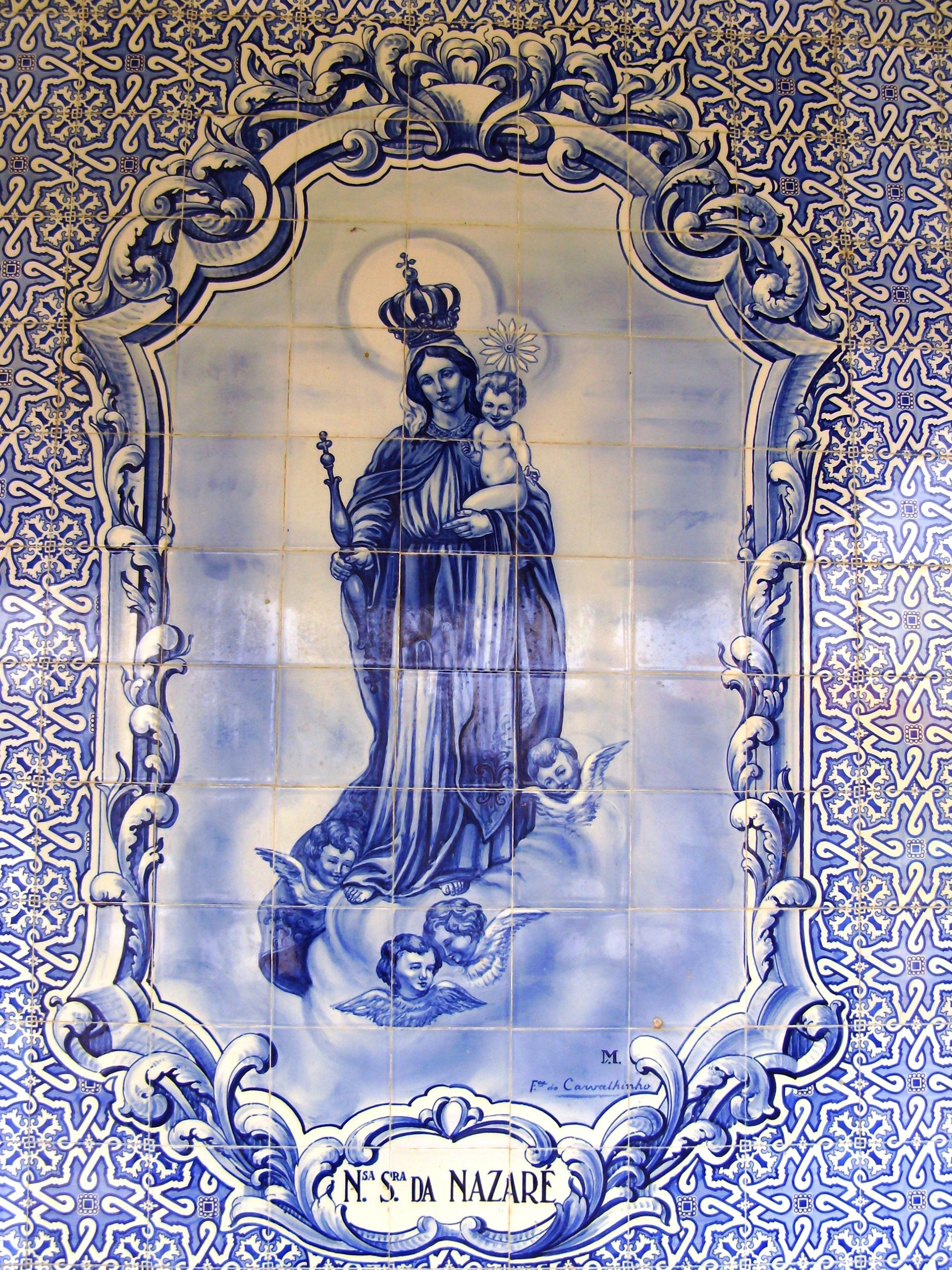 Portugal hist ria nossa senhora for Azulejos historia